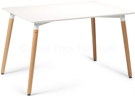 Eiffel Designer Dining Table Rectangular Small Sale Now On Your Price Furniture
